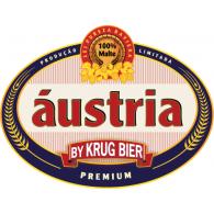 Áustria by Krug Bier logo vector logo
