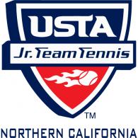 USTA Jr. Team Tennis Northern California logo vector logo
