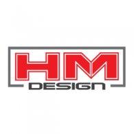 HM Design logo vector logo