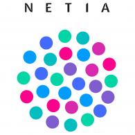 Netia logo vector logo