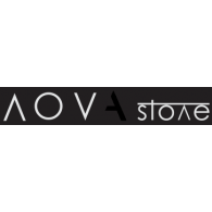 Novastone logo vector logo