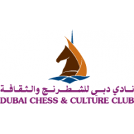 Dubai Chess & Culture Club logo vector logo