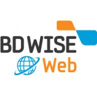 BD WISE Web logo vector logo