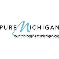 Pure Michigan logo vector logo