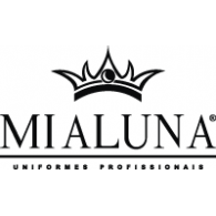 Mialuna logo vector logo