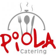 Piola Catering logo vector logo