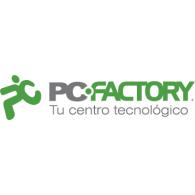 PC Factory logo vector logo