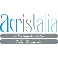 Acristalia logo vector logo