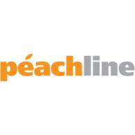 peachline logo vector logo