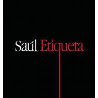 Saúl Etiqueta logo vector logo