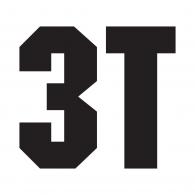 3T logo vector logo