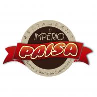 Imperio Paisa Restaurante logo vector logo
