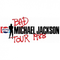 Michael Jackson – Bad Tour 1988 logo vector logo
