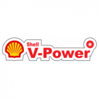 Shell V-Power logo vector logo