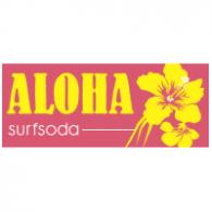 ALOHA surfsoda logo vector logo