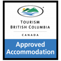 Tourism British Columbia Approved Accommodation logo vector logo