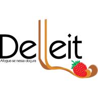 Delleit logo vector logo
