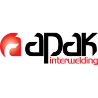 Apak interwelding logo vector logo