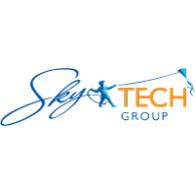 Sky Tech Group logo vector logo