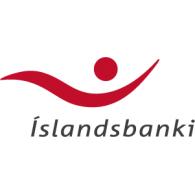 Íslandsbanki logo vector logo