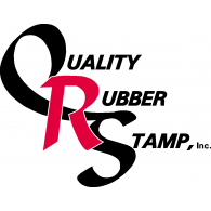 Quality Rubber Stamp logo vector logo