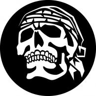 Skull logo vector logo