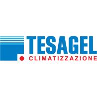Tesagel logo vector logo