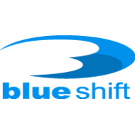 Blue Shift logo vector logo
