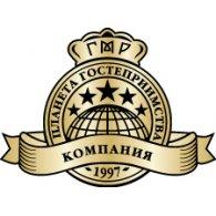 Планета гостеприимства logo vector logo