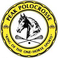 Peak Polocrosse logo vector logo