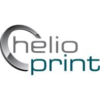 Helioprint logo vector logo