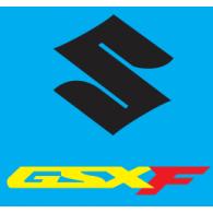 Suzuki GSXF logo vector logo
