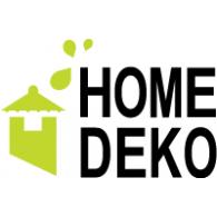 Home Deko logo vector logo