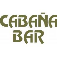 Cabaña Bar logo vector logo