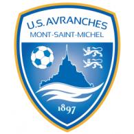 US Avranches Mont-Saint-Michel logo vector logo