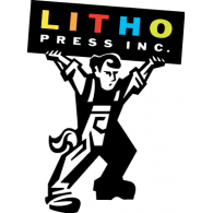 Litho Press Inc. logo vector logo