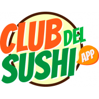 Club del Sushi logo vector logo