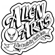 Allen Arts logo vector logo