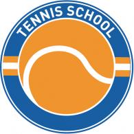 Tennis School logo vector logo