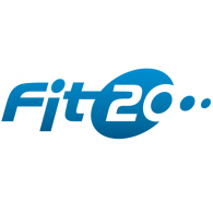 Fit 20 logo vector logo