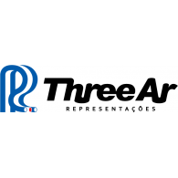 Three Ar logo vector logo