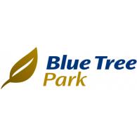 Blue Tree Park logo vector logo