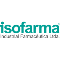 Isofarma logo vector logo