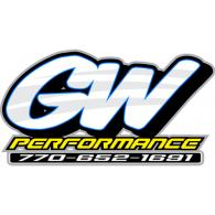 GW Performance logo vector logo