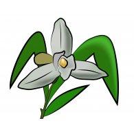 Monja Blanca logo vector logo