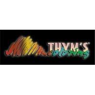 Thym's Coloring logo vector logo
