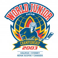2003 IIHF World Junior Championship logo vector logo