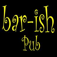 Bar-ish Pub logo vector logo