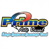 Prime arte visual logo vector logo