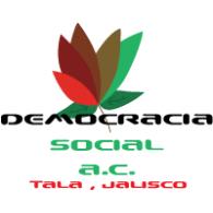 Democracia Social logo vector logo